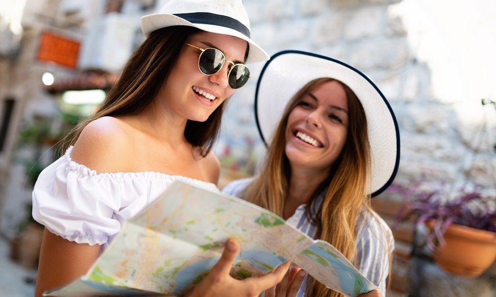 Chicas de viaje